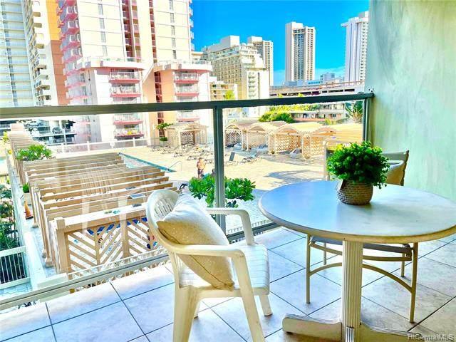 445 Seaside Avenue #711, Honolulu, HI 96815 (MLS #202116062) :: Corcoran Pacific Properties