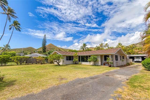 1411 Mokulua Drive, Kailua, HI 96734 (MLS #202116094) :: Weaver Hawaii   Keller Williams Honolulu