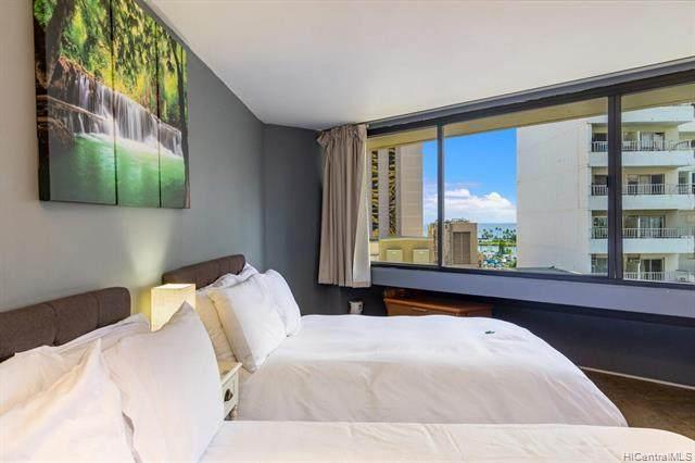 1700 Ala Moana Boulevard #1401, Honolulu, HI 96815 (MLS #202116130) :: Weaver Hawaii | Keller Williams Honolulu
