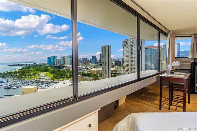 1700 Ala Moana Boulevard #2601, Honolulu, HI 96815 (MLS #202116136) :: Weaver Hawaii | Keller Williams Honolulu