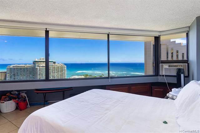 1700 Ala Moana Boulevard #3403, Honolulu, HI 96815 (MLS #202116138) :: Weaver Hawaii | Keller Williams Honolulu
