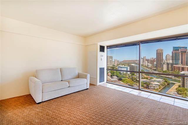 1750 Kalakaua Avenue #1706, Honolulu, HI 96826 (MLS #202118211) :: LUVA Real Estate
