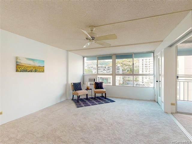1621 Dole Street #508, Honolulu, HI 96822 (MLS #202118287) :: LUVA Real Estate
