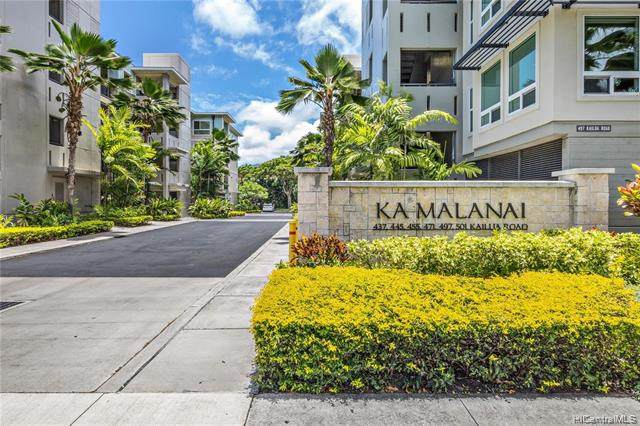 445 Kailua Road #5203, Kailua, HI 96734 (MLS #202118555) :: Keller Williams Honolulu