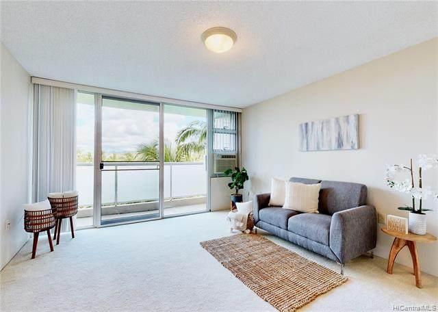 3009 Ala Makahala Place #405, Honolulu, HI 96818 (MLS #202118577) :: LUVA Real Estate