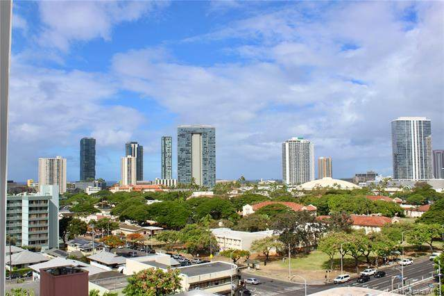 1125 Young Street #1010, Honolulu, HI 96814 (MLS #202118947) :: Keller Williams Honolulu