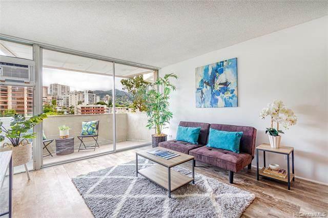 1050 Kinau Street #802, Honolulu, HI 96814 (MLS #202119018) :: Island Life Homes