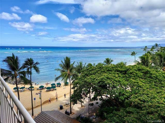 2161 Kalia Road #604, Honolulu, HI 96815 (MLS #202119180) :: Compass