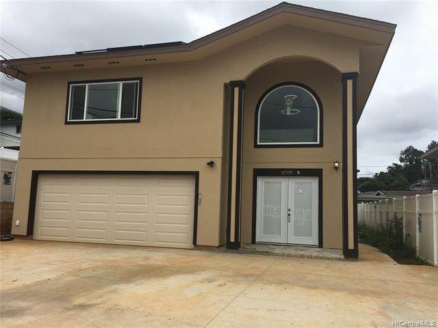 45-595 Paleka Road C, Kaneohe, HI 96744 (MLS #202119187) :: LUVA Real Estate