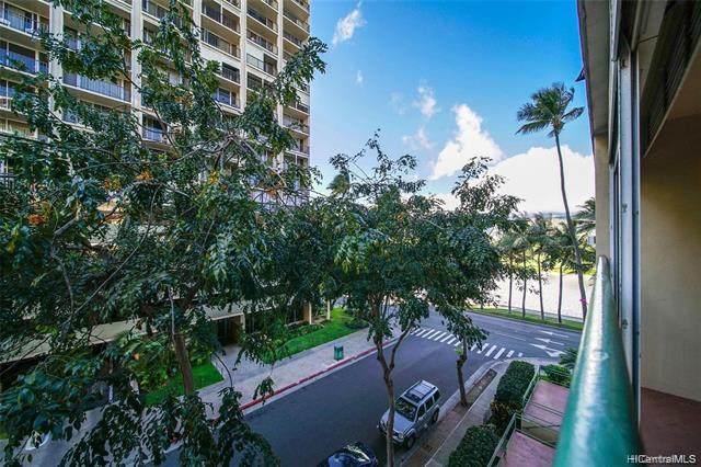 2355 Ala Wai Boulevard #401, Honolulu, HI 96815 (MLS #202119274) :: Keller Williams Honolulu