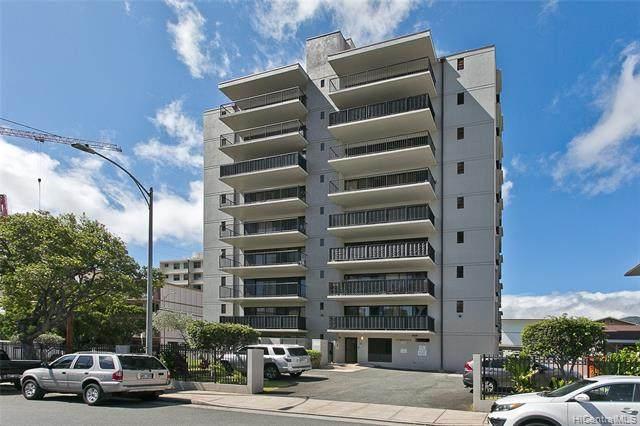 907 Birch Street #601, Honolulu, HI 96814 (MLS #202119306) :: Keller Williams Honolulu