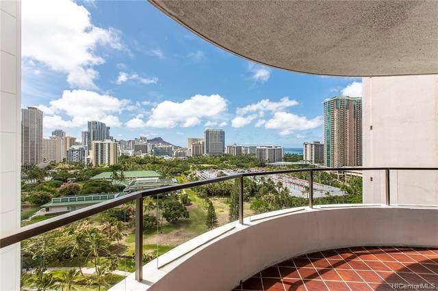 1910 Ala Moana Boulevard 17D, Honolulu, HI 96815 (MLS #202119328) :: Keller Williams Honolulu