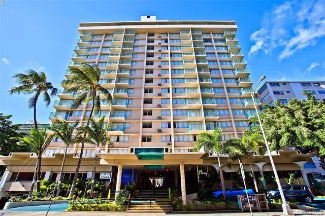 444 Kanekapolei Street #807, Honolulu, HI 96815 (MLS #202119338) :: Keller Williams Honolulu