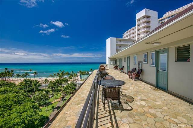 134 Kapahulu Avenue #604, Honolulu, HI 96815 (MLS #202119387) :: Keller Williams Honolulu