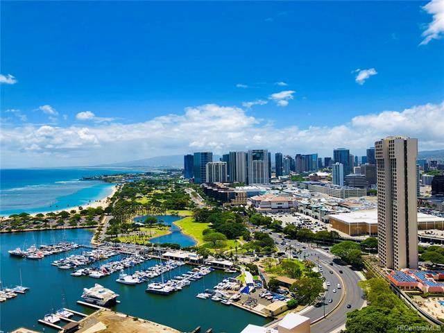 1700 Ala Moana Boulevard #3802, Honolulu, HI 96815 (MLS #202119599) :: Island Life Homes