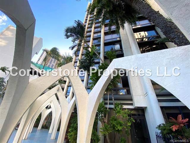 300 Wai Nani Way I2206, Honolulu, HI 96815 (MLS #202119671) :: Team Lally