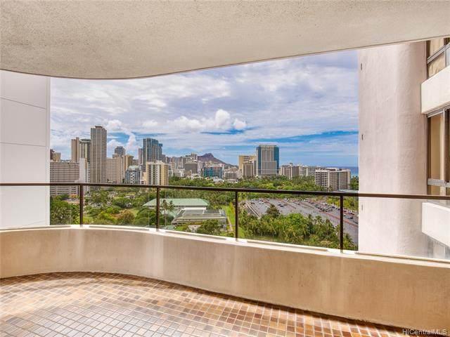 1910 Ala Moana Boulevard 20D, Honolulu, HI 96815 (MLS #202119880) :: LUVA Real Estate