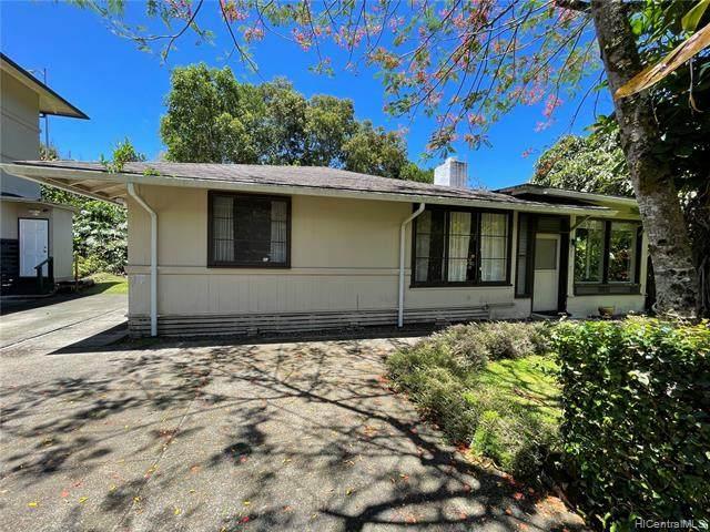 3404 Kaohinani Drive, Honolulu, HI 96817 (MLS #202120269) :: Weaver Hawaii | Keller Williams Honolulu