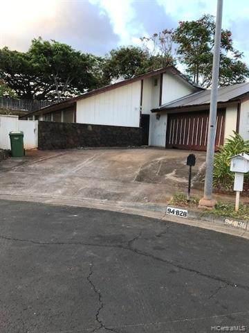 94-828 Penakii Way, Waipahu, HI 96797 (MLS #202120764) :: Island Life Homes
