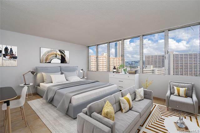 1650 Kanunu Street #1304, Honolulu, HI 96814 (MLS #202120785) :: Island Life Homes
