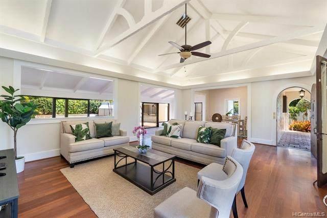 4678 Kahala Avenue, Honolulu, HI 96816 (MLS #202120995) :: LUVA Real Estate
