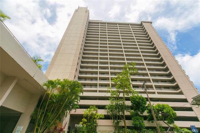 1848 Kahakai Drive #1503, Honolulu, HI 96814 (MLS #202120997) :: LUVA Real Estate