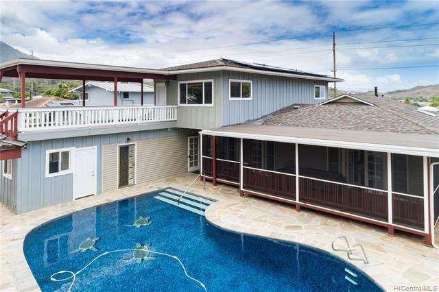 1345 Keolu Drive, Kailua, HI 96734 (MLS #202121336) :: LUVA Real Estate