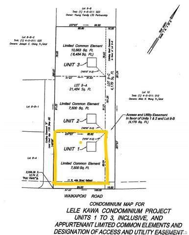45-123 Waikapoki Road #1, Kaneohe, HI 96744 (MLS #202121937) :: Weaver Hawaii | Keller Williams Honolulu