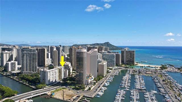 1690 Ala Moana Boulevard #501, Honolulu, HI 96815 (MLS #202123588) :: Corcoran Pacific Properties