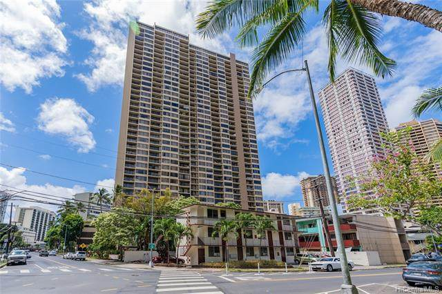 411 Hobron Lane #2408, Honolulu, HI 96815 (MLS #202123750) :: Exp Realty