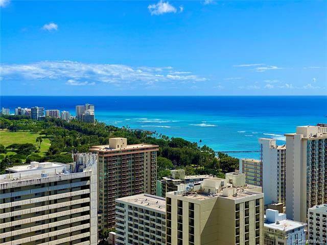 201 Ohua Avenue #3606, Honolulu, HI 96815 (MLS #202123774) :: Weaver Hawaii | Keller Williams Honolulu