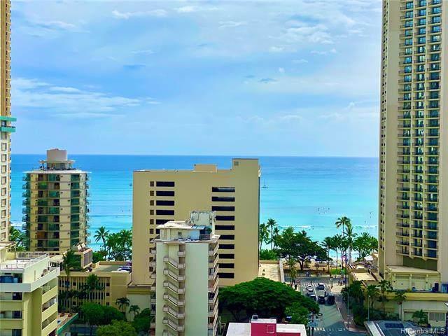 2440 Kuhio Avenue #1707, Honolulu, HI 96815 (MLS #202123775) :: Weaver Hawaii | Keller Williams Honolulu