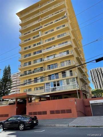 303 Liliuokalani Avenue #603, Honolulu, HI 96815 (MLS #202123847) :: Weaver Hawaii | Keller Williams Honolulu