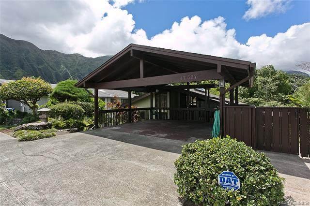 47-527 Waipaipai Street, Kaneohe, HI 96744 (MLS #202123852) :: Weaver Hawaii | Keller Williams Honolulu