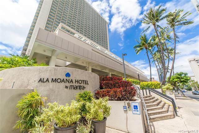 410 Atkinson Drive #922, Honolulu, HI 96814 (MLS #202123876) :: Island Life Homes