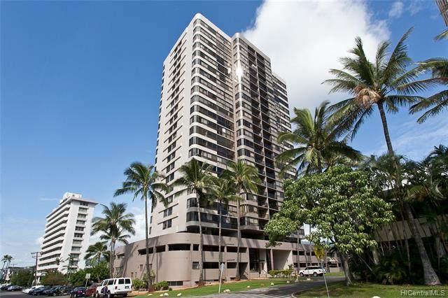 2724 Kahoaloha Lane #1103, Honolulu, HI 96826 (MLS #202124006) :: LUVA Real Estate