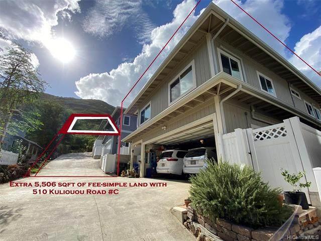 510 Kuliouou Road C, Honolulu, HI 96821 (MLS #202124176) :: Compass
