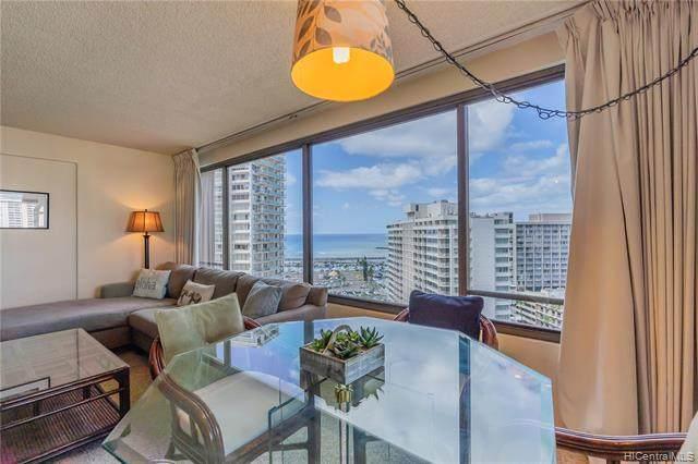 1778 Ala Moana Boulevard #1919, Honolulu, HI 96815 (MLS #202124295) :: Exp Realty
