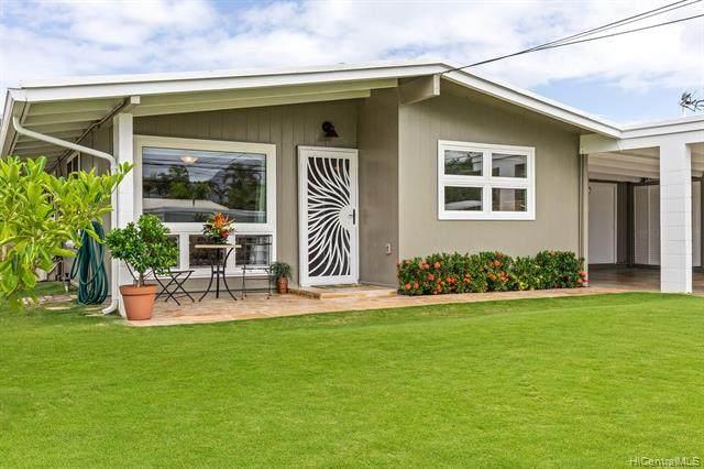 535 Palawiki Street, Kailua, HI 96734 (MLS #202124499) :: Team Lally