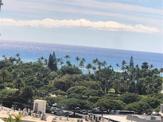 2140 Kuhio Avenue #1303, Honolulu, HI 96815 (MLS #202124689) :: Team Lally