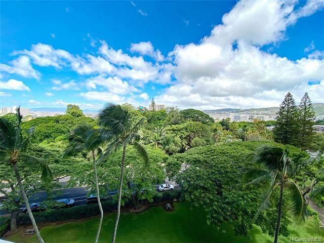 1515 Nuuanu Avenue #752, Honolulu, HI 96817 (MLS #202124704) :: Team Lally