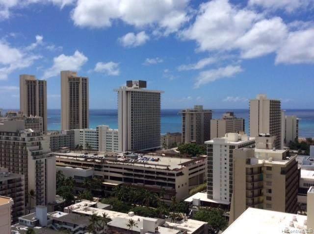 445 Seaside Avenue #2803, Honolulu, HI 96815 (MLS #202124712) :: Weaver Hawaii | Keller Williams Honolulu
