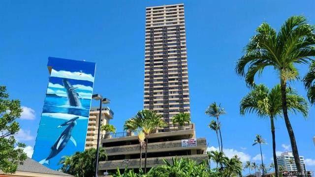 444 Niu Street #2205, Honolulu, HI 96815 (MLS #202124993) :: LUVA Real Estate