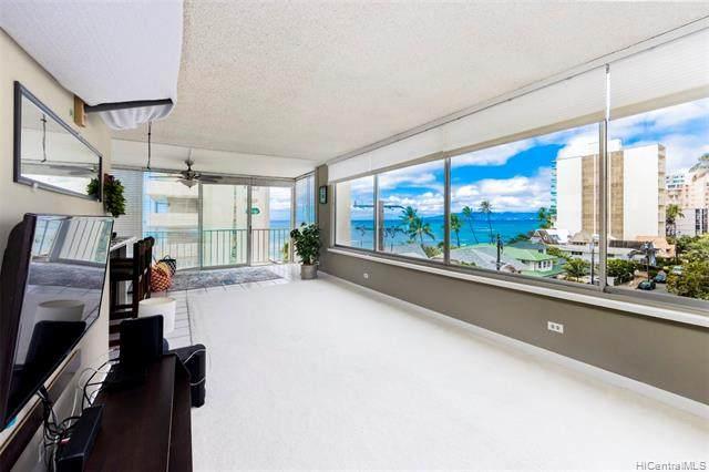2801 Coconut Avenue 5H, Honolulu, HI 96815 (MLS #202125038) :: Compass