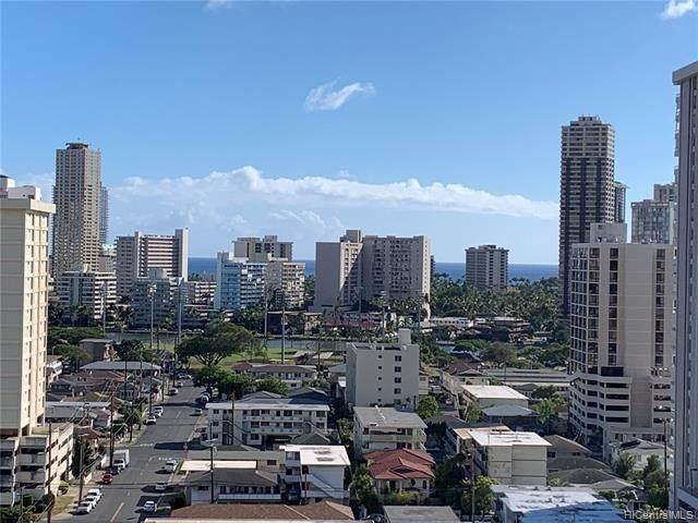 2121 Algaroba Street #1607, Honolulu, HI 96826 (MLS #202125157) :: Keller Williams Honolulu