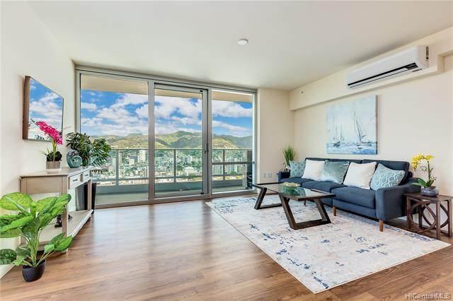 1391 Kapiolani Boulevard #4201, Honolulu, HI 96814 (MLS #202125332) :: Island Life Homes