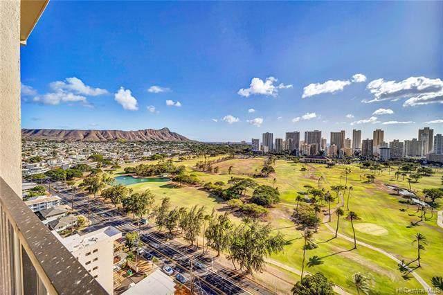 2916 Date Street 21H, Honolulu, HI 96816 (MLS #202125362) :: Island Life Homes