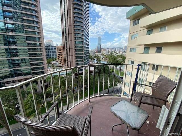 1909 Ala Wai Boulevard #1005, Honolulu, HI 96815 (MLS #202125442) :: LUVA Real Estate