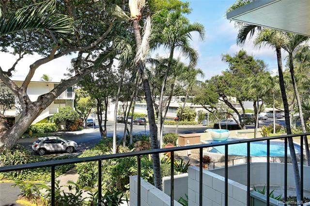 3030 Pualei Circle #205, Honolulu, HI 96815 (MLS #202125502) :: Compass