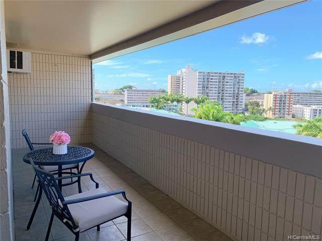 1099 Ala Napunani Street #903, Honolulu, HI 96818 (MLS #202125546) :: Keller Williams Honolulu